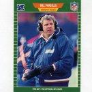 1989 Pro Set Football #293 Bill Parcells CO - New York Giants