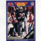 1989 Pro Set Football #193B Stacey Toran - Los Angeles Raiders