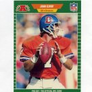 1989 Pro Set Football #100B John Elway - Denver Broncos