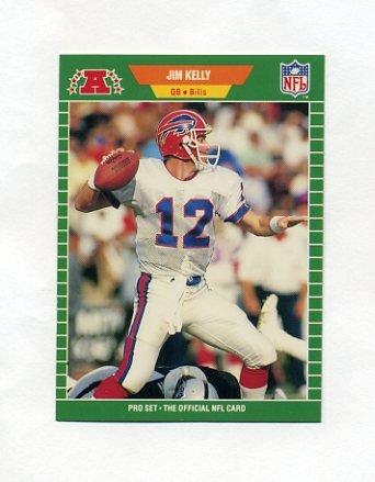 1989 Pro Set Football #022 Jim Kelly - Buffalo Bills