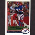 1991 Upper Deck Football #356 Thurman Thomas - Buffalo Bills