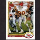 1991 Upper Deck Football #163 Neil Smith - Kansas City Chiefs