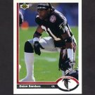 1991 Upper Deck Football #154 Deion Sanders - Atlanta Falcons