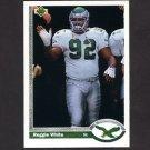 1991 Upper Deck Football #148 Reggie White - Philadelphia Eagles