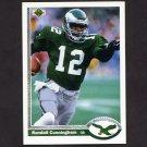 1991 Upper Deck Football #146 Randall Cunningham - Philadelphia Eagles