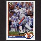 1991 Upper Deck Football #124 John Elway - Denver Broncos ExMt