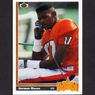 1991 Upper Deck Football #017 Herman Moore RC - Detroit Lions