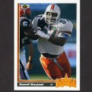 1991 Upper Deck Football #005 Russell Maryland RC - Dallas Cowboys