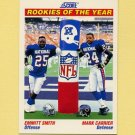 1991 Score Football #675 Emmitt Smith / Mark Carrier ROY