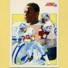 1991 Score Football #663 Barry Sanders TL - Detroit Lions