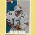 1991 Score Football #632 Dan Marino TM - Miami Dolphins