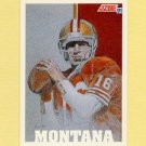 1991 Score Football #620 Joe Montana TM - San Francisco 49ers