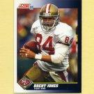 1991 Score Football #556 Brent Jones - San Francisco 49ers