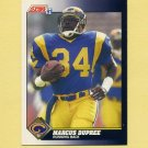 1991 Score Football #457 Marcus Dupree - Los Angeles Rams