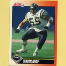 1991 Score Football #354 Junior Seau - San Diego Chargers