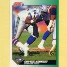 1991 Score Football #279 Cortez Kennedy - Seattle Seahawks