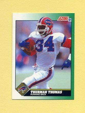1991 Score Football #234 Thurman Thomas - Buffalo Bills