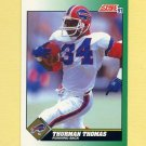 1991 Score Football #234 Thurman Thomas - Buffalo Bills