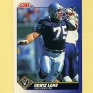 1991 Score Football #075 Howie Long - Los Angeles Raiders
