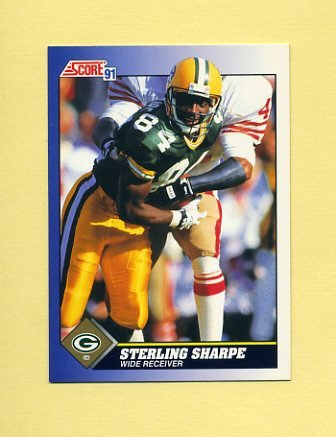 1991 Score Football #042 Sterling Sharpe - Green Bay Packers