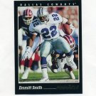 1993 Pinnacle Football #100 Emmitt Smith - Dallas Cowboys