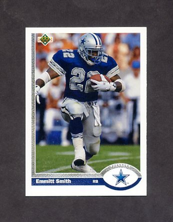 1991 Upper Deck Football #172 Emmitt Smith - Dallas Cowboys