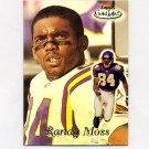1999 Topps Gold Label Football #050 Randy Moss - Minnesota Vikings
