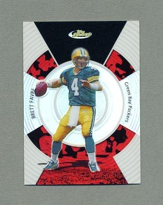 2005 Finest Refractors Football #066 Brett Favre - Green Bay Packers /399