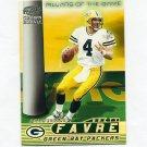 1998 Crown Royale Football Pillars of the Game #09 Brett Favre - New York Jets