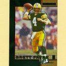 1996 Score Board Lasers Football #001 Brett Favre - Green Bay Packers