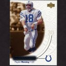2000 Upper Deck Ovation Football #023 Peyton Manning - Indianapolis Colts