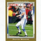 2006 Topps Total Gold Football #300 Peyton Manning - Indianapolis Colts