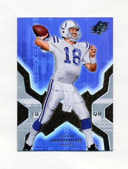 2007 SPx Football #042 Peyton Manning - Indianapolis Colts