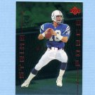 1999 Upper Deck Strike Force Football #SF11 Peyton Manning - Indianapolis Colts