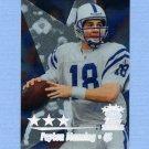 1999 Topps Stars Three Star Football #23 Peyton Manning - Indianapolis Colts