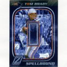 2005 Zenith Spellbound Silver Football #S2 Tom Brady - New England Patriots