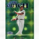 1998 Fleer Tradition In The Clutch Baseball #IC02 Barry Bonds - San Francisco Giants