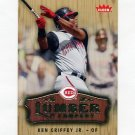 2006 Fleer Lumber Company Baseball #LC16 Ken Griffey Jr. - Cincinnati Reds