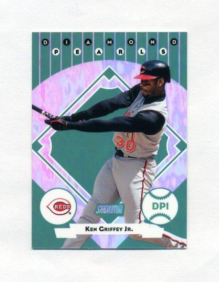 2001 Stadium Club Diamond Pearls Baseball #DP01 Ken Griffey Jr. - Cincinnati Reds