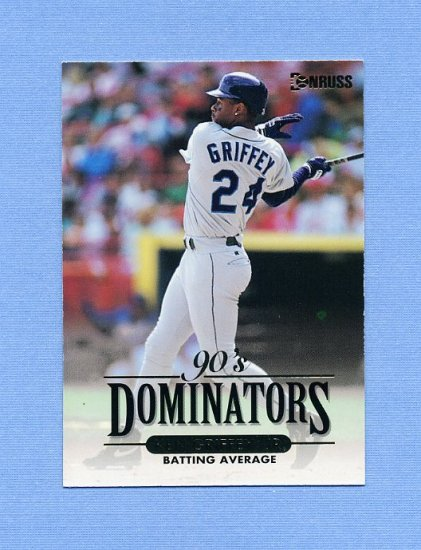 1994 Donruss Dominators Baseball #B6 Ken Griffey Jr. - Seattle Mariners