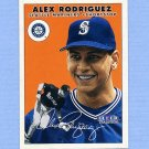 2000 Fleer Tradition Baseball #391 Alex Rodriguez - Seattle Mariners