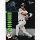 1998 SkyBox Dugout Axcess Double Header #DH04 Derek Jeter - New York Yankees