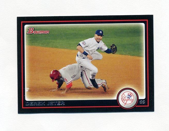 2010 Bowman Baseball #190 Derek Jeter - New York Yankees