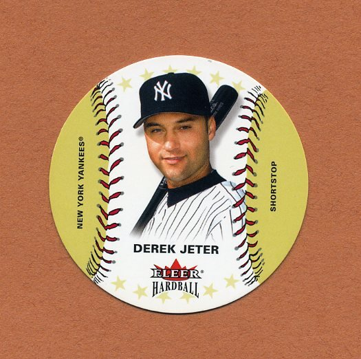 2003 Fleer Hardball Baseball #002 Derek Jeter - New York Yankees