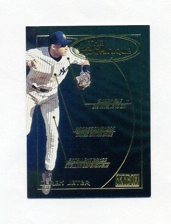 2000 SkyBox Technique Baseball #T09 Derek Jeter - New York Yankees