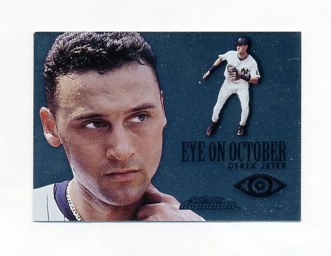 2000 SkyBox Dominion Eye on October Baseball #EO03 Derek Jeter - New York Yankees
