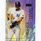 2000 SkyBox Higher Level Baseball #HL02 Derek Jeter - New York Yankees