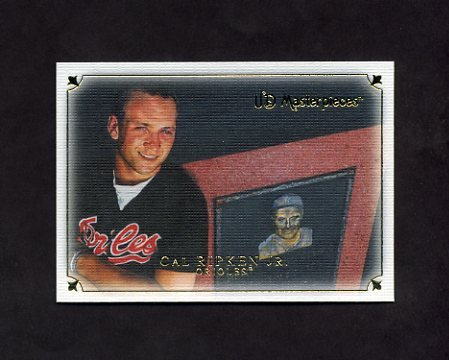 2007 UD Masterpieces Baseball #055 Cal Ripken Jr. - Baltimore Orioles
