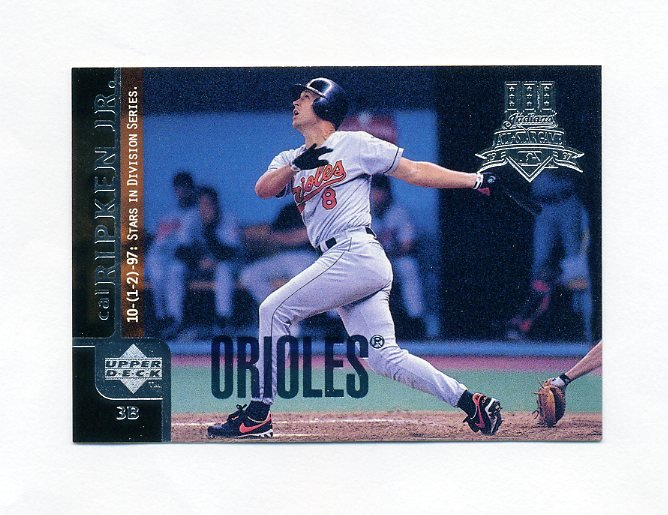1998 Upper Deck Baseball #310 Cal Ripken Jr. - Baltimore Orioles