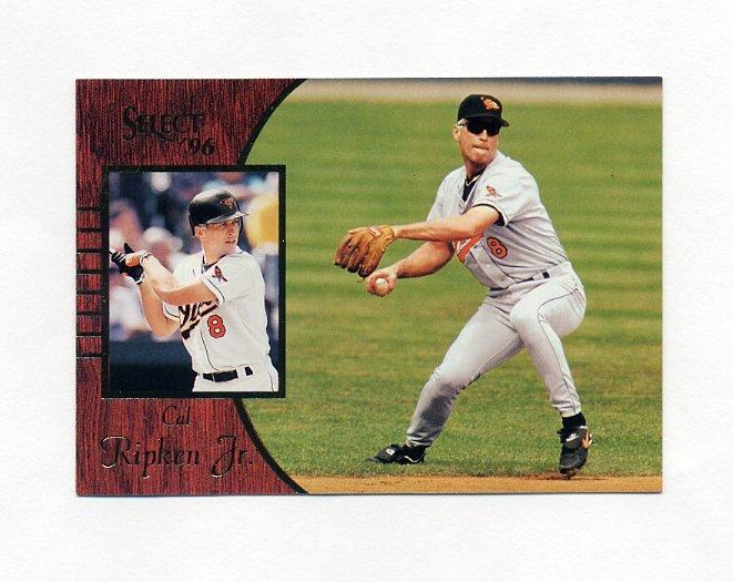 1996 Select Baseball #019 Cal Ripken Jr. - Baltimore Orioles